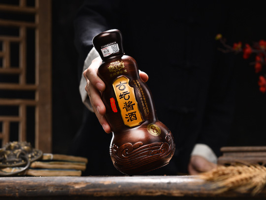 古坛酱酒(洞藏8)_洞藏坤沙老酒_酱香经典