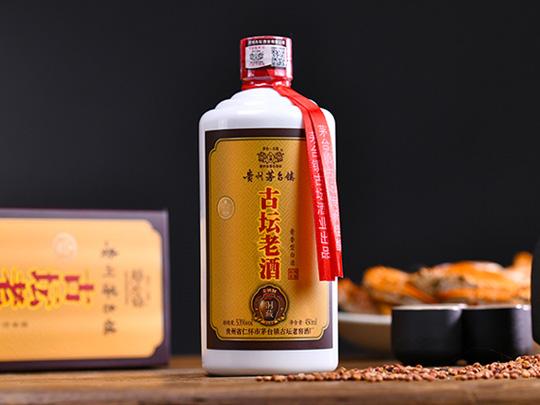 古坛老酒_酱香型白酒_53度纯粮酿造6瓶装