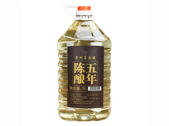桶装散酒_酱香型白酒53度